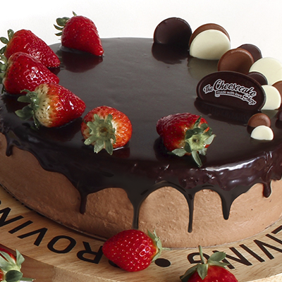 DOUBLE CHOC STRAWBERRY TORTE
