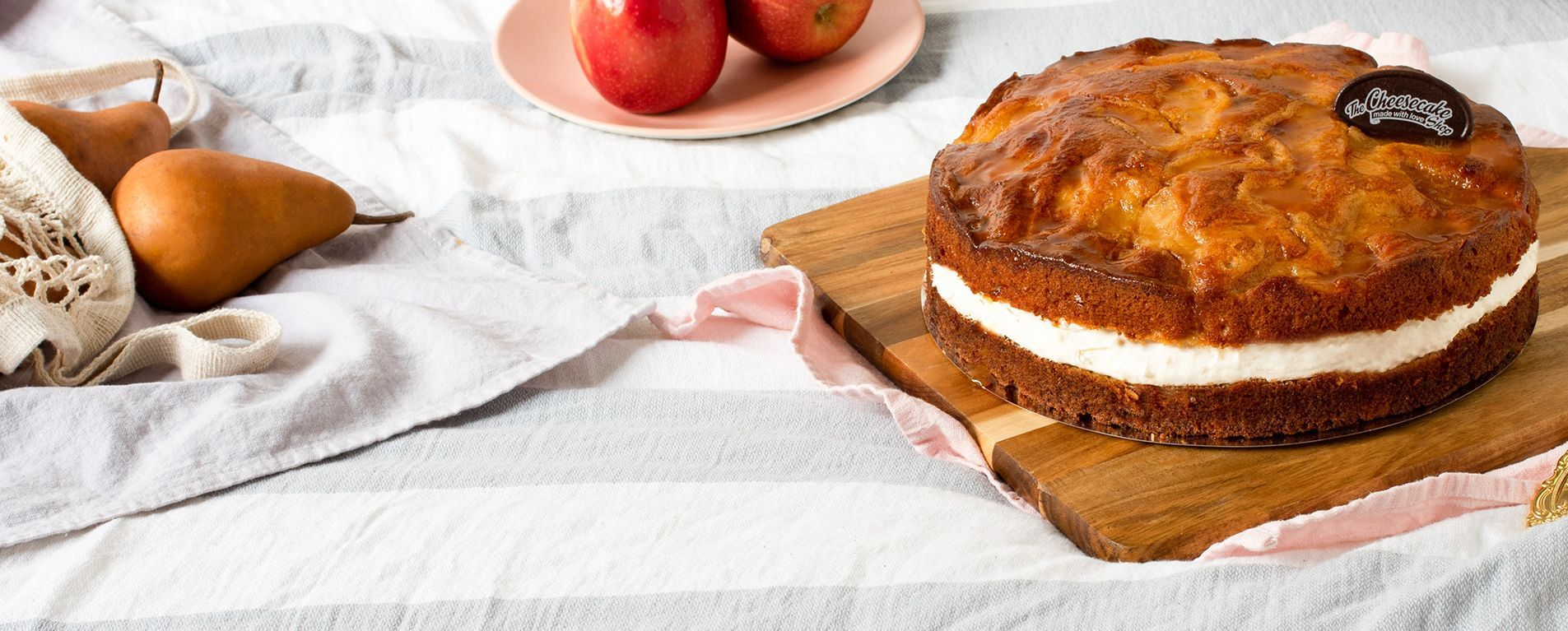 APPLE & PEAR CAKE