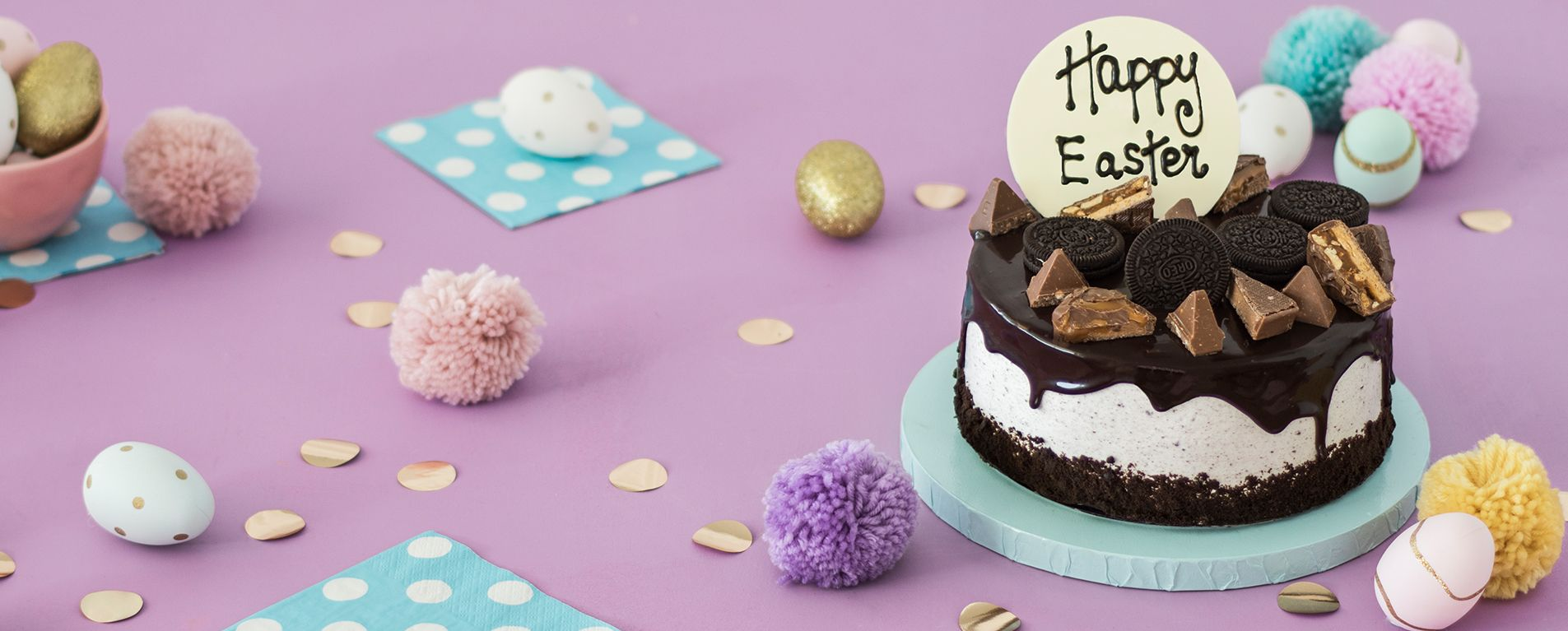 EASTER COOKIES AND CREAM PARTY CAKE