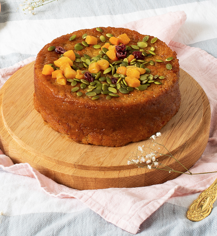 GLUTEN FREE CARROT AND ORANGE CAKE