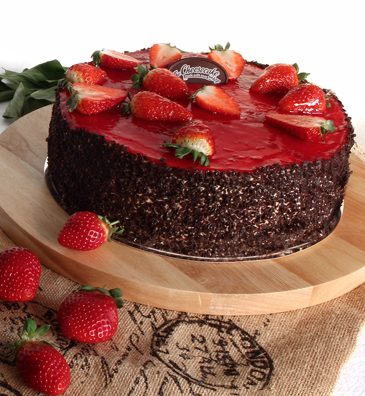 STRAWBERRY FIELDS TORTE