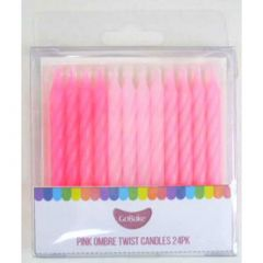 TWIST CANDLE PINK