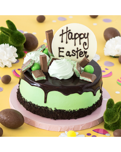 EASTER CHOC MINT PARTY CAKE